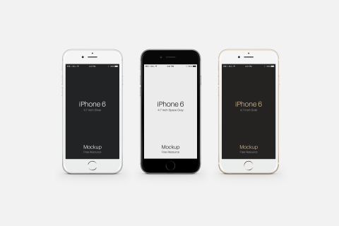 FREEBIE: Apple iPhone 6 PSD Mockup