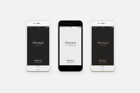 FREEBIE: Apple iPhone 6 PSD Mockup