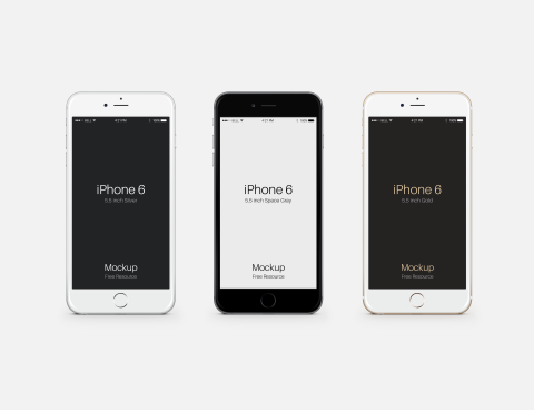 FREEBIE: Apple iPhone 6 Plus PSD Mockup