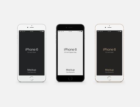 FREEBIE: Apple iPhone 6 Plus PSD Mockup