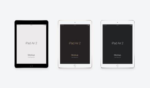 FREEBIE: Apple iPad Air 2 PSD Mockup