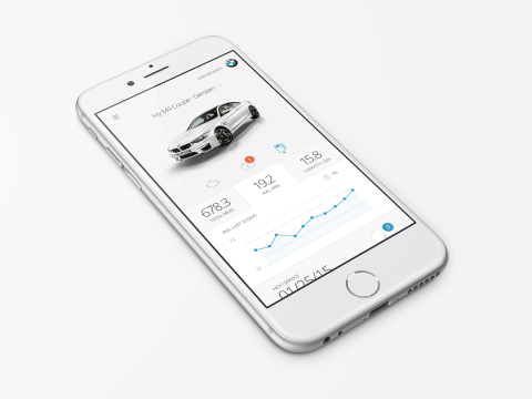 BMW Diagnostic Dashboard