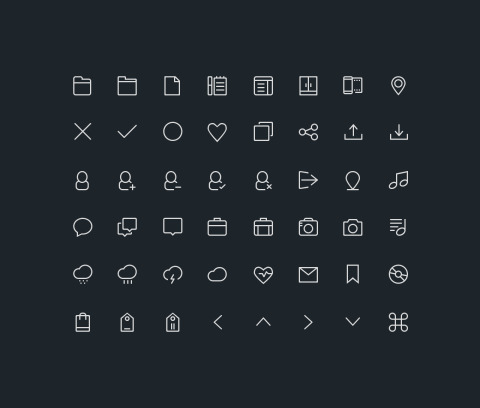 PREMIUM: Budicon Icon Set