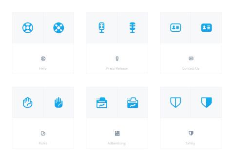 XMarket Web Icons