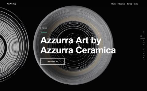 PREMIUM: Tag: Creative Agency/Portfolio Fullscreen Theme