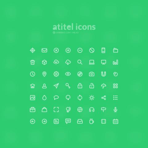 FREEBIE: Atitel Icons