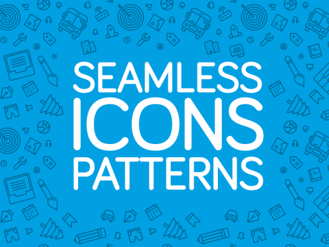 FREEBIE: Seamless Icons Patterns