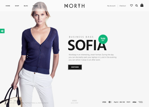PREMIUM: North | Unique E-Commerce Theme