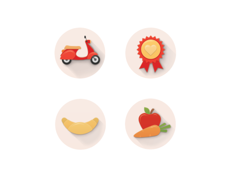 Icons for rohlik.cz