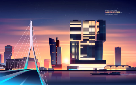 WALLPAPER: De Rotterdam