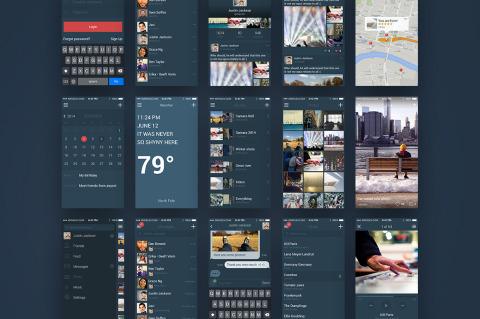 PREMIUM: iSocial iOS UI Kit